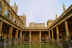 Roman Baths Stock Photography