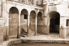 Roman baths Stock Photo