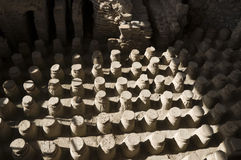 Roman baths. At Beit She'an, Israel Royalty Free Stock Photo