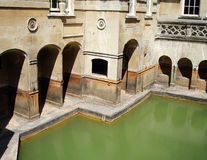 Roman Baths Royalty Free Stock Photo