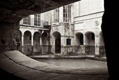 Roman Baths Alcove i staden av badet Förenade kungariket Royaltyfri Fotografi