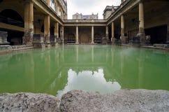 Roman Baths ancient spa, Bath, England Royalty Free Stock Photography