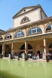 Roman Baths av badet, England Royaltyfri Foto