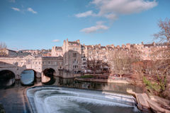 Roman baths at Avon England Royalty Free Stock Images