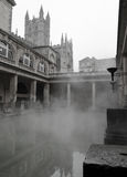 Roman Baths in Bad, Somerset, Engeland Stock Fotografie
