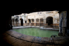 Roman Baths in Bad, Somerset, Engeland Royalty-vrije Stock Fotografie