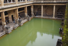 Roman Baths in Bath Stock Photography