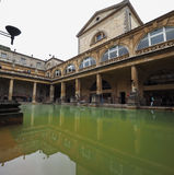Roman Baths in Bath Stock Photos
