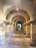 Roman Baths in Bath stock photo
