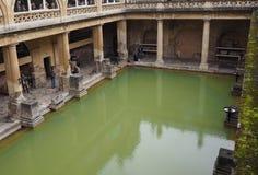 Roman Baths in Bath. BATH, UK - CIRCA SEPTEMBER 2016: Roman Baths ancient spa Stock Photography