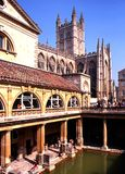 Roman Baths, Bath. Royalty Free Stock Photos