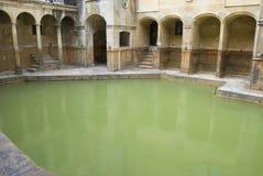 Roman Baths, Bath, England. The Roman Baths in Bath, Engand Stock Photos