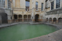 Roman Baths at Bath Stock Images