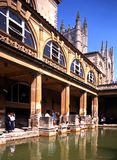Roman Baths, Bath. Stock Photo