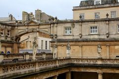 Roman Baths - Bath, Sometset, England Stock Photo