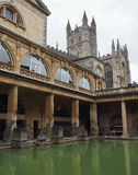 Roman Baths in Bath. BATH, UK - CIRCA SEPTEMBER 2016: Roman Baths ancient spa Stock Photos