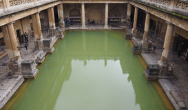 Roman Baths in Bath Royalty Free Stock Photography