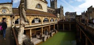 Roman baths. In bath United Kingdom Royalty Free Stock Image