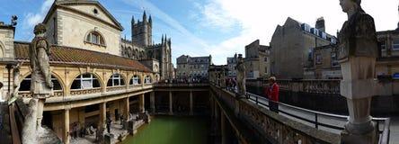 Roman baths. In bath United Kingdom Stock Photography