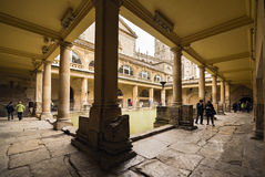 Roman Baths Royalty Free Stock Images
