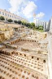 Roman Baths in Beirut, Lebanon Royalty Free Stock Image