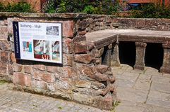 Roman baths, Chester. Royalty Free Stock Photography