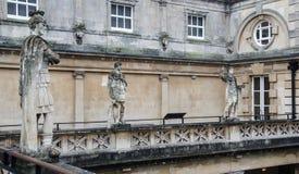 Roman Baths in Bath, Somerset, England stock photos