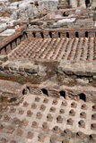 Roman Baths, Downtown Beirut. Roman baths, an archaeological site in the middle of downtown Beirut, capital city of Lebanon Stock Photos