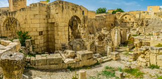 The Roman baths of El Kef Royalty Free Stock Image