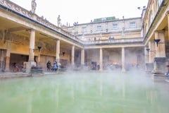 Roman Baths en Reino Unido Imagen de archivo libre de regalías