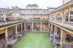 Roman Baths en Reino Unido Fotografía de archivo
