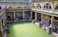 Roman Baths, England Stock Photography