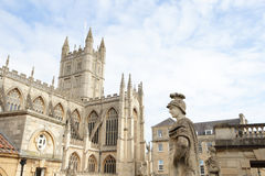 Roman baths in england Stock Photography