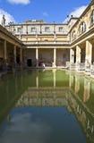 Roman Baths. The historic Roman Baths in Bath, Somerset Royalty Free Stock Photos