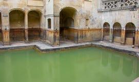 Roman Baths i bad, England royaltyfri bild