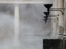 Roman Baths im Bad, Somerset, England Stockbild