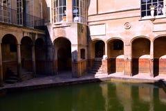 Roman Baths Museum, baño, Reino Unido Foto de archivo