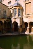 Roman Baths Museum, baño, Reino Unido Imágenes de archivo libres de regalías