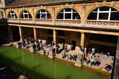 Roman Baths Museum, baño, Reino Unido Imagen de archivo libre de regalías