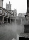 Roman Baths no banho, Somerset, Inglaterra Fotografia de Stock