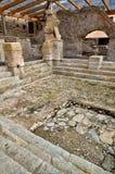 Roman baths in Spain, Caldes de Malavella Stock Image