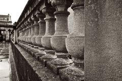 Roman Baths Terrace United Kingdom Royalty Free Stock Image