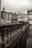 Roman Baths Terrace United Kingdom Royalty Free Stock Photography