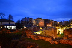 Roman Baths, Varna Bulgaria Royalty Free Stock Image