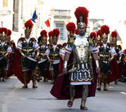 Roman Battalion Stock Image