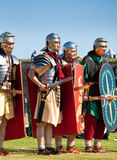 Roman battle Stock Photo