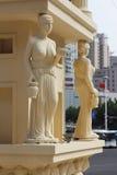 Roman beeldhouwwerk Royalty-vrije Stock Fotografie
