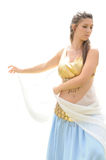 Roman Belly Dancer Royalty Free Stock Photos