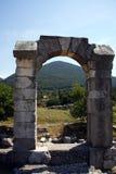 Roman boog AR Carsulae Royalty-vrije Stock Afbeeldingen