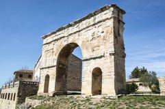 Roman boog Medinaceli royalty-vrije stock foto's